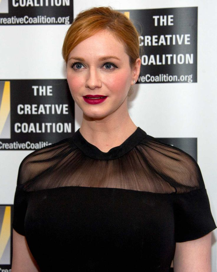 Christina Hendricks Shines at The Creative Coalition's Inaugural Ball for the Arts on January 20