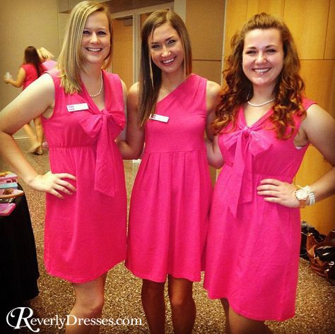 Sorority recruitment dresses by Revelry!  Adorable and affordable!! Group order discounts available.  RevelryDresses.com