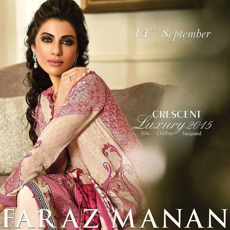 Faraz Manan Luxury Eid Lawn Collection 2015 for Girls  http://clothingpk.blogspot.com/2015/09/faraz-manan-luxury-eid-lawn-collection-2015.html