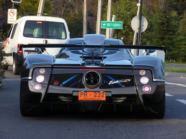 The One Off Supercar Zonda 760 RS, Is The Most Powerful Pagani Zonda Ever