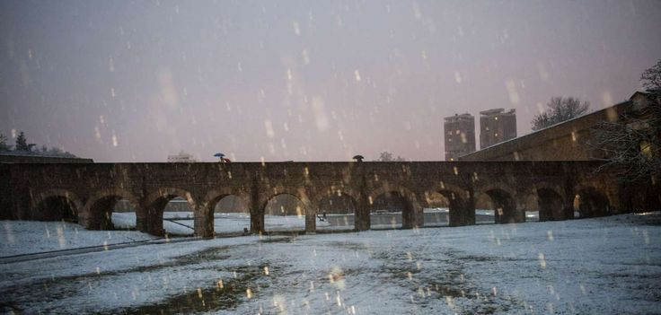 APTOPIX Spain Weather - Alvaro Barrientos/AP Images