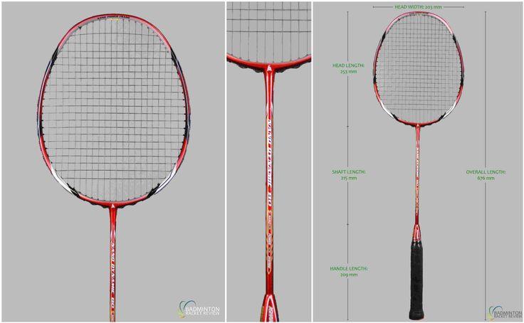 Ashaway Nano Dynamic 80 Badminton Racket