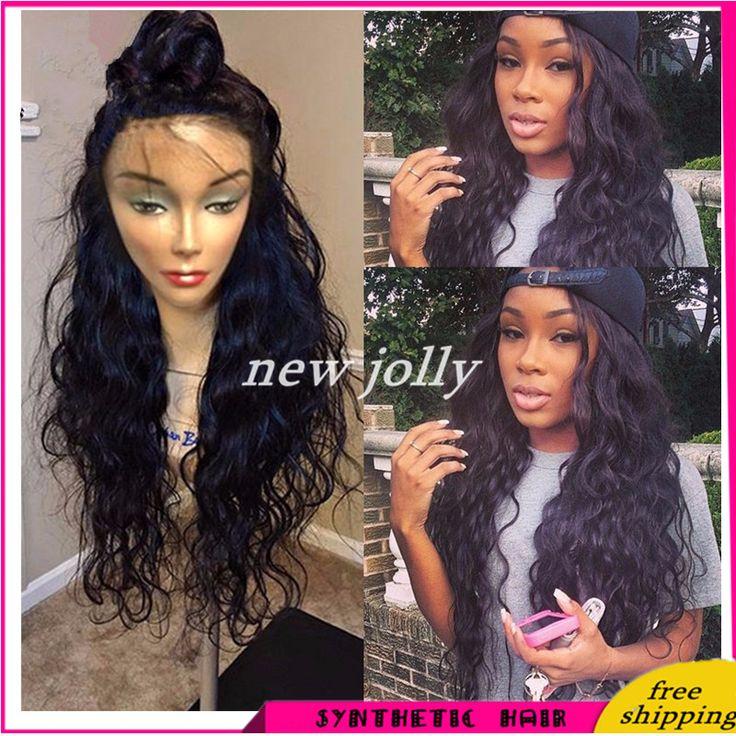 Aliexpress.com: Comprar Rapunzel Freetress igualdad peluca mujeres sintéticas de pelo de la armadura de larga pelucas de Cosplay del pelo sin cola pelucas delanteras del cordón sintético de pelucas de las mujeres afroamericanas fiable proveedores en New Jolly