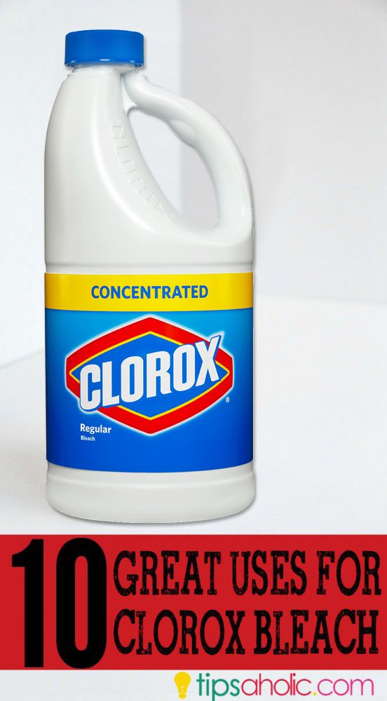 10 Great Uses for Clorox Bleach