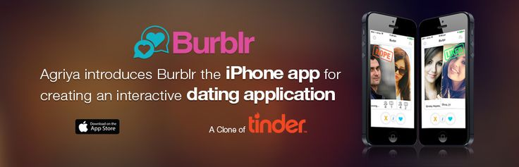 Dating application for iPhone - Clone of Tinder
