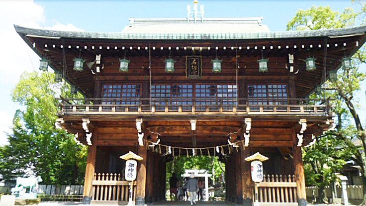 石切劔箭神社に行ってきました。