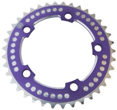Chop Saw III BMX Bicycle 7075 chainring 110mm bcd - 38T - PURPLE