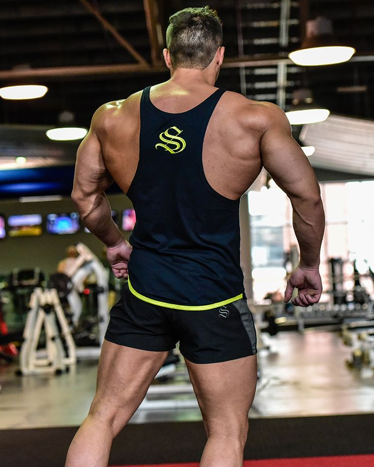 @strongliftwear Camo Cooltech Taperback - Yellow #fitness www.strongliftwear.com