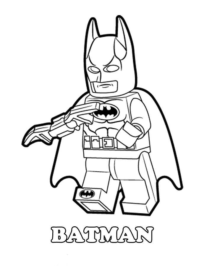 Lego Batman Coloring Pages Batman Coloring Pages Superhero
