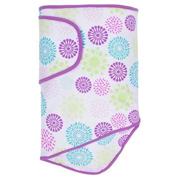 Miracle Blanket Swaddle Wrap - Colorful Bursts