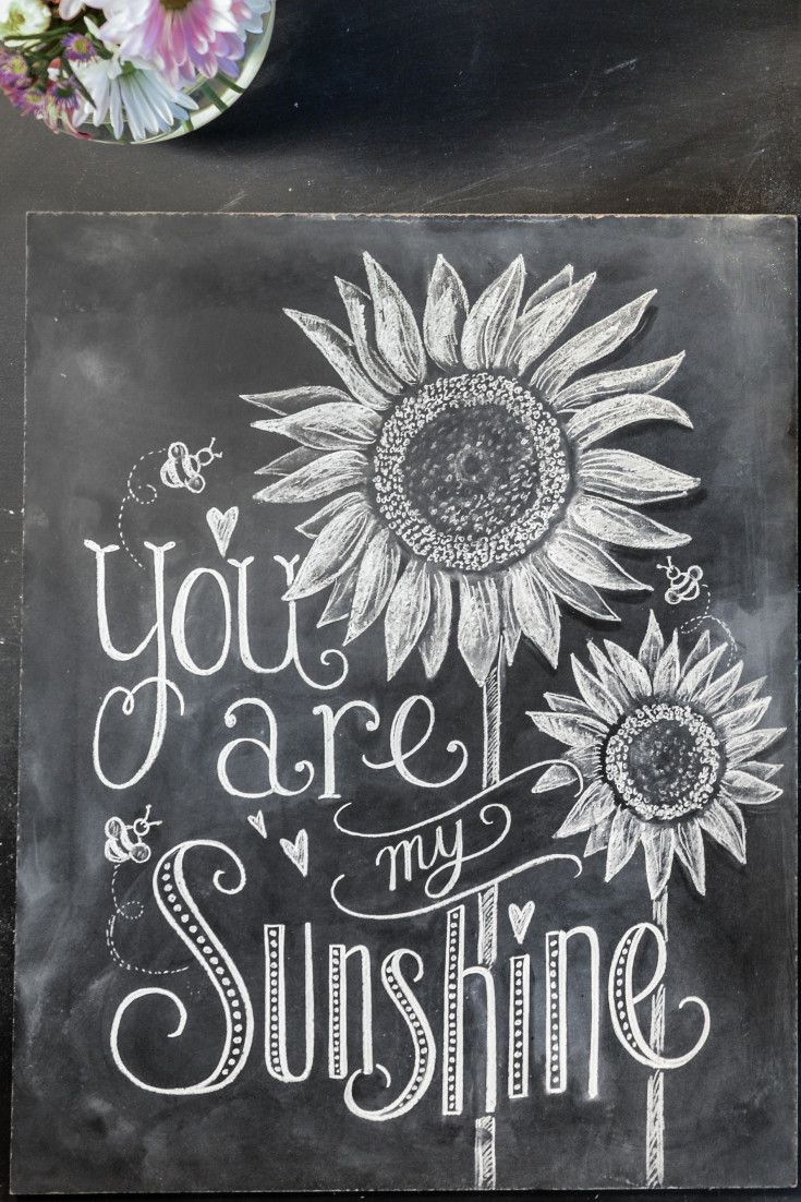 15 best Spring chalkboard sayings images on Pinterest | Chalkboard ...