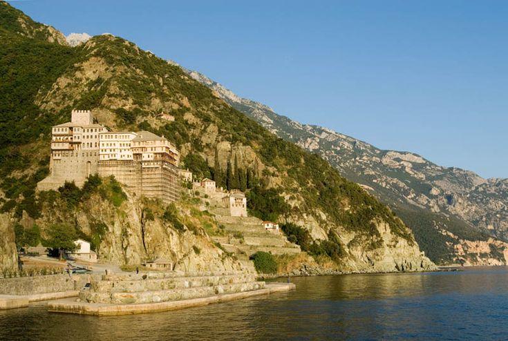 TRAVEL'IN GREECE I Mount #Athos: The Monastery of #Dionysiou