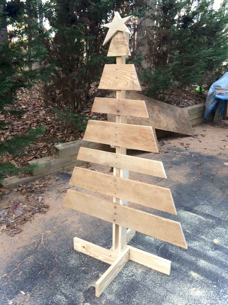 40 Easy DIY Wooden Christmas Craft Ideas | Pallet ...