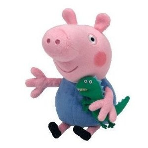 Georges and dinosaur from Peppa Pig TV show