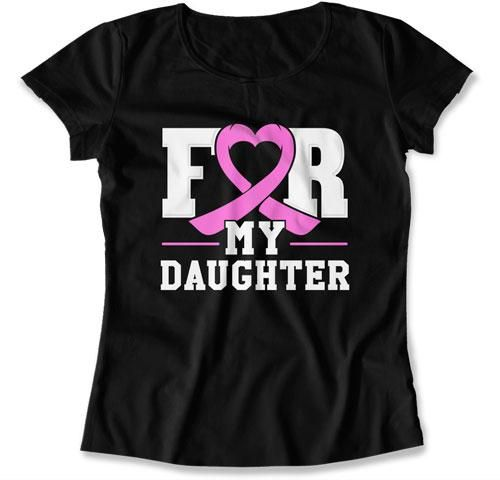 Breast Cancer Support T Shirt, Pink Ribbon Gifts, Breast Cancer Tees – Teepinch