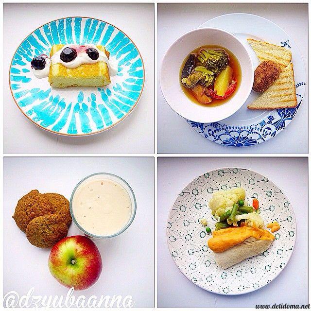 Блюда для детей. Меню №3. | Дети Дома