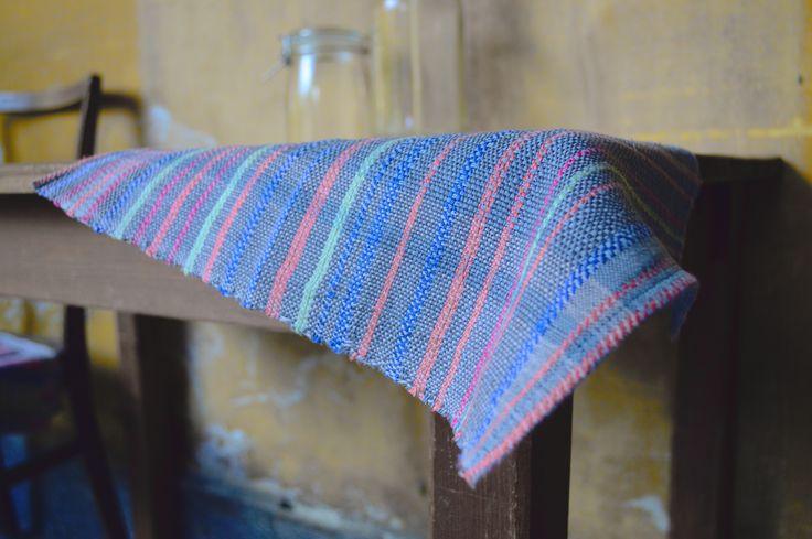 woven tablecloth - Eszter Tóth