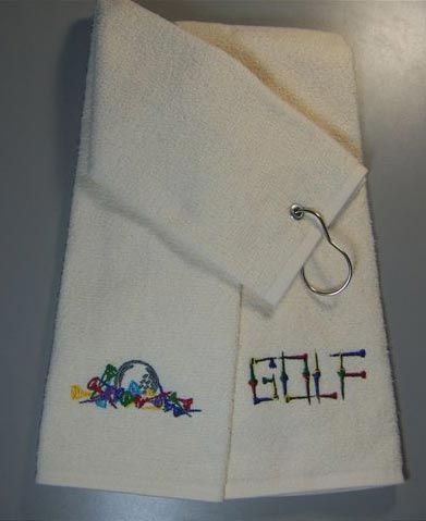 How to make a tri-fold golf towel