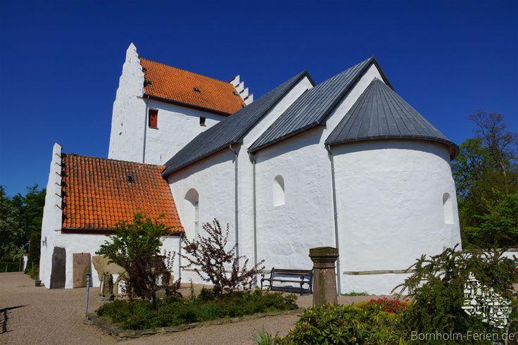 Sankt Bodils Kirche, Bornholm #bodilsker #bodilskirke #bodilskirche #kirche #kirke #bornholm #daenemark