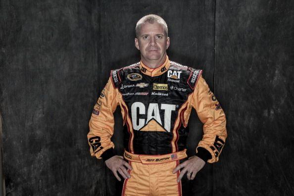Jeff Burton #nascar #caterpillar