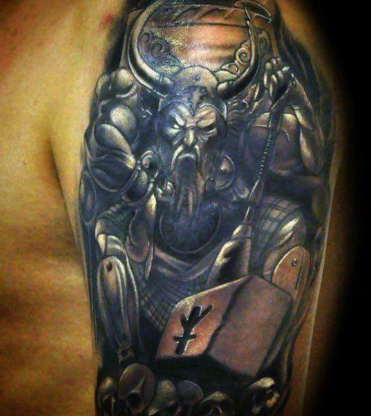 95 Best Viking Tattoo Designs Symbols: 9 Beautiful & Inspirational Viking Tattoos