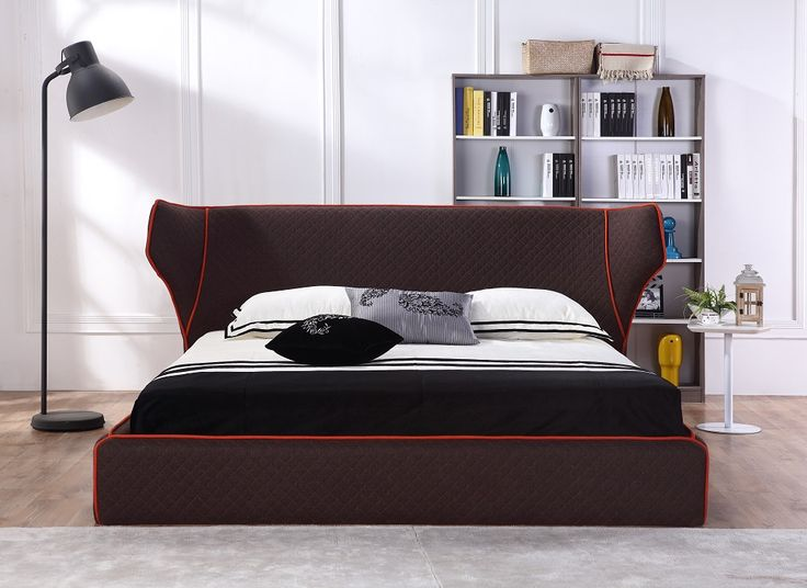 J U0026 M Furniture Chanelle Bed 18028 | Modern Bedroom Furniture. Storage ...