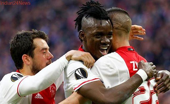 Bertrand Traore brace puts Ajax on course for Europa League final