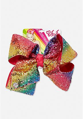 Justice Exclusive Sequin Jojo Siwa Bow