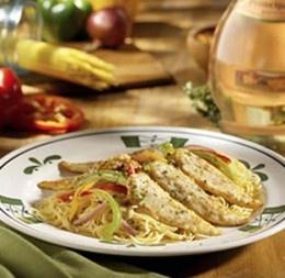 Copy cat Olive Garden Chicken Scampi recipe