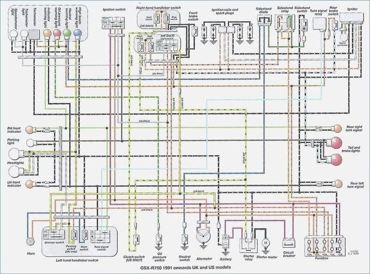Suzuki Gsxr 750 Wiring Diagram, 2007 Suzuki Gsxr 600 Wiring Diagram