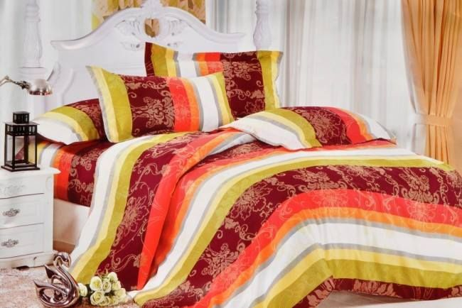 #Befunkies collection to #furnish your house! #Pretty #Triditional With Stripes Print Single Bed Sheet @ http://goo.gl/FL7X0R