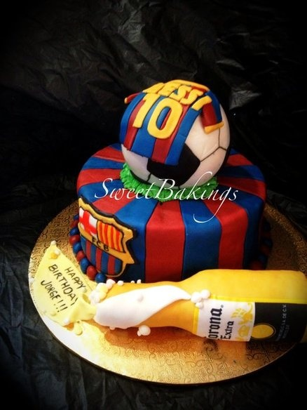 11 Best Images About Barcelona Cakes On Pinterest Messi
