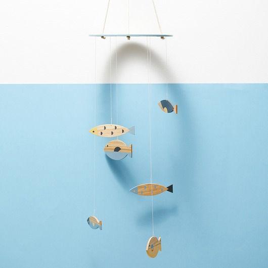 pokój dziecka - karuzele i girlandy-Pod wodą