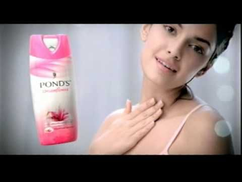 Ponds Dreamflower talc ads