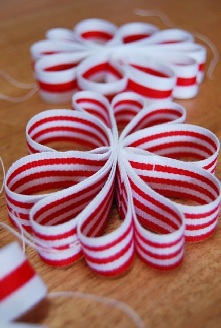 ribbon christmas ornaments | ribbon christmas ornaments