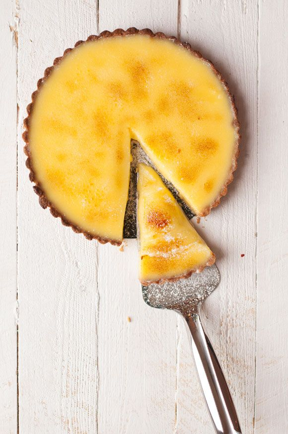 Heston Blumenthal's Lemon Tart Recipe by My Cooking Hut at http://www.mycookinghut.com