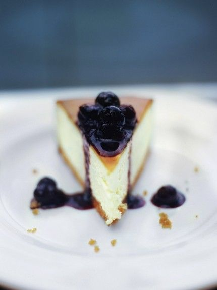 http://www.jamieoliver.com/recipes/cheese-recipes/new-york-vanilla-cheesecake-with-blueberries/