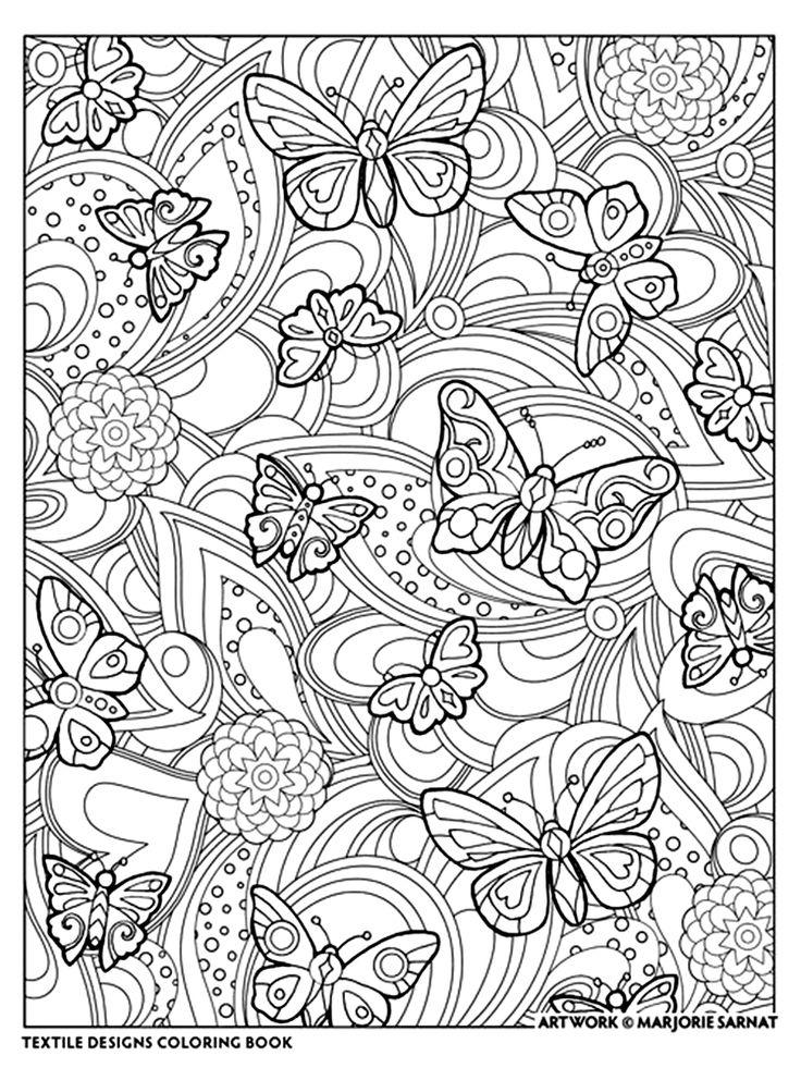 20 best Marjorie Samat - Textile Designs images on Pinterest ...