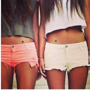 We're super stars. | 33 Super Cute Best Friend Tattoos---This is very cliche, but I really love @beth0254 ;) And I don't think she'd consider the tattoo part, so we won't ACTUALLY be nauseatingly cliche.