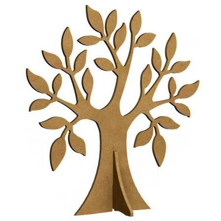 Support à bijoux - Arbre Pommier en bois - A peindre ou décorer : Supports Colliers par the-shop-of-diy