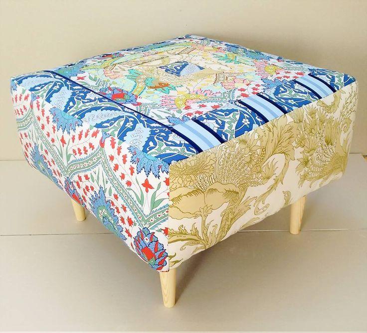 Creovaria i pyfa wykonana z tkanin z kolekcji Iznik od Snow Leopard