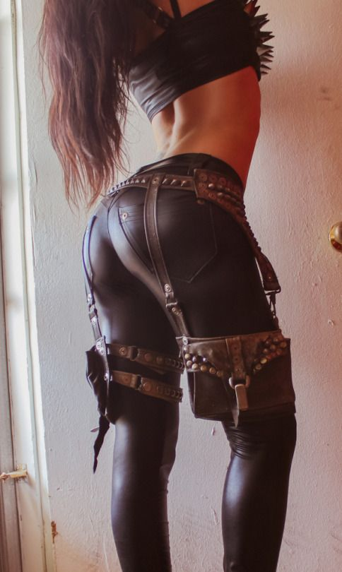 Sexy ass leathers