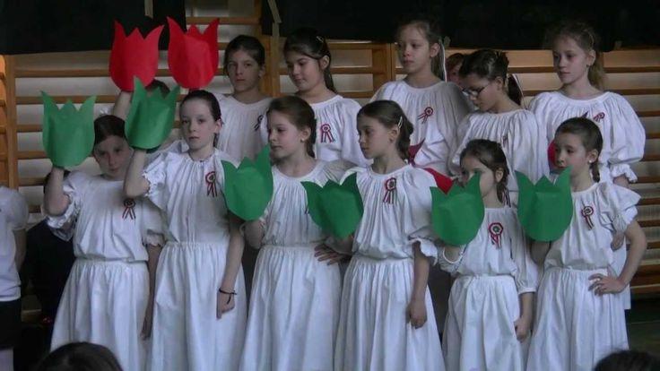 Március 15-i ünnepi megemlékezés (alsós) - 2012 - Paragvári Utcai Általá...