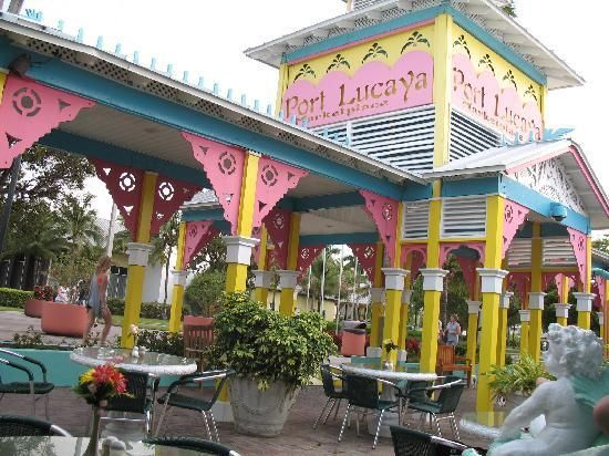 Port Lucaya Market Place Freeport, Grand Bahama Island...has THE best coconut daquiris, hands down, at a little hut in the center of the marketplace. If you are ever there check it out.