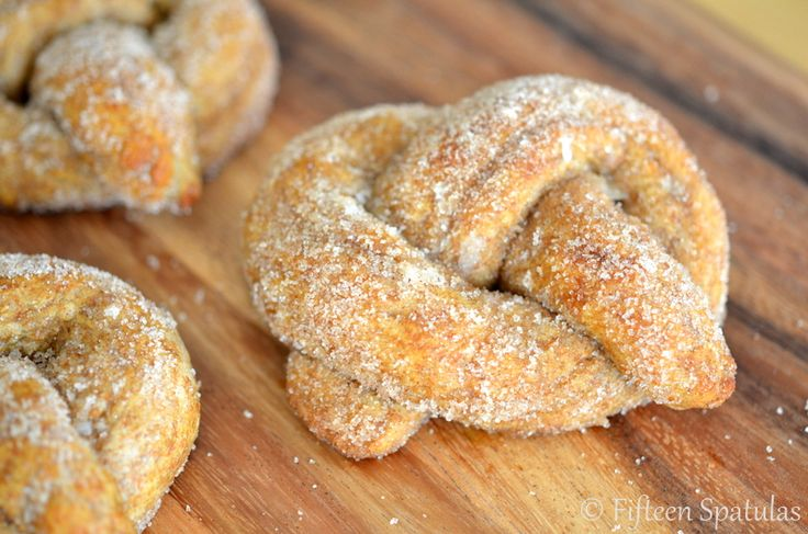 Hot Buttered Fluffy Pretzels 2.0, the 100% Whole Wheat Version!