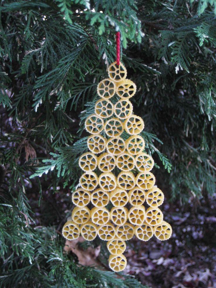 Killer Crafts & Crafty Killers  Christmas Tree Pasta Ornament
