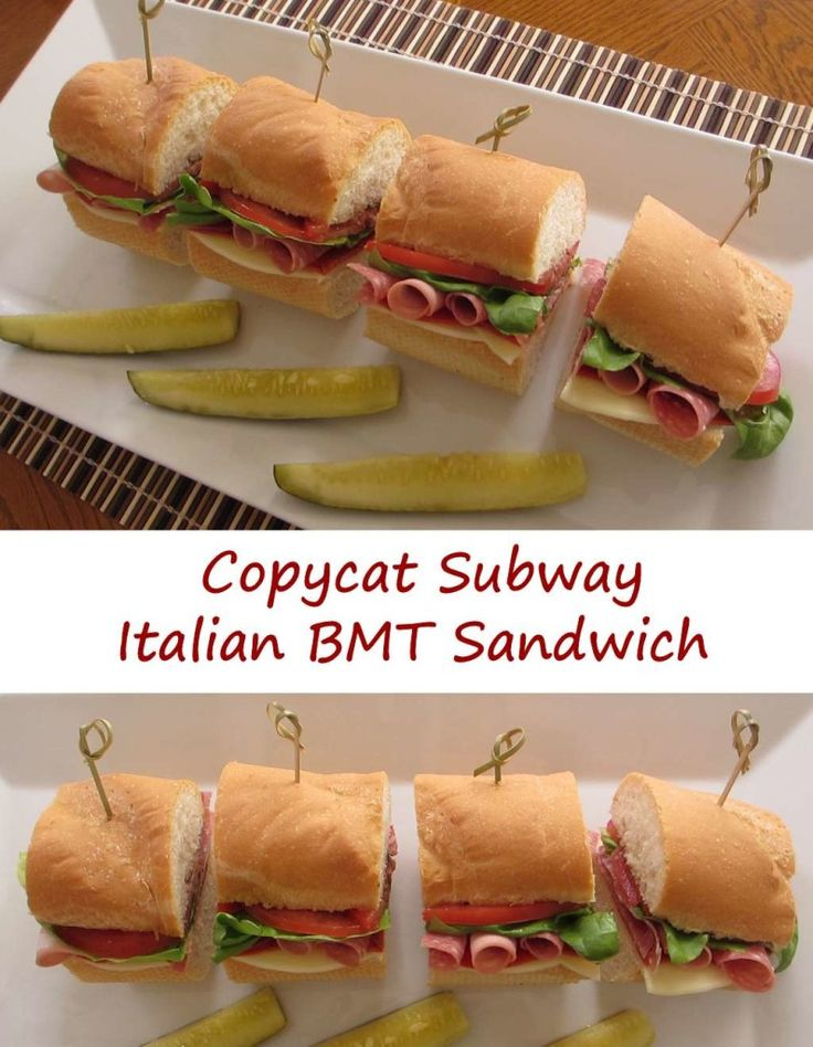 You don't need to go out to have a great sandwich. This copycat Subway Italian BMT sandwich is outstandingly simply and good.