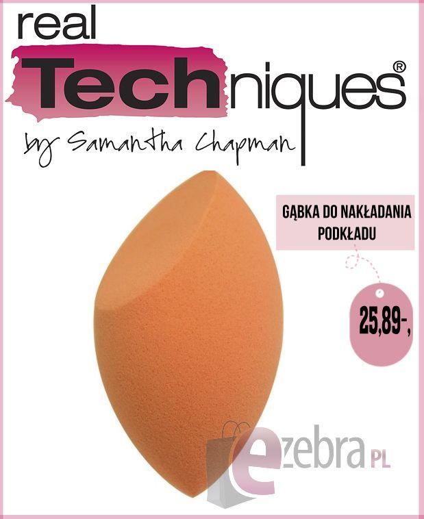 http://ezebra.pl  #makijaż #gąbkadomakijażu #makeup #realtechniques #perfekcyjnymakijaż