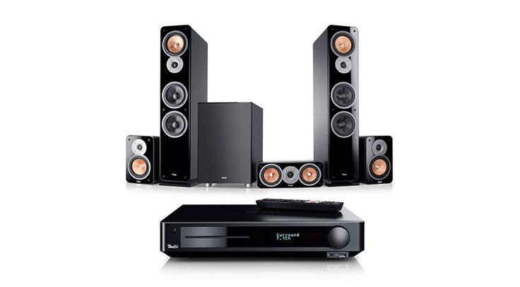 Erneut schnürt Lautsprecher Teufel GmbH ein Home Cinema Bundle, das auf dem Blu-ray Receiver Teufel Impaq 8000 basiert, diesmal im Zusammenspiel mit dem Set Teufel Ultima 40 Surround 5.1.