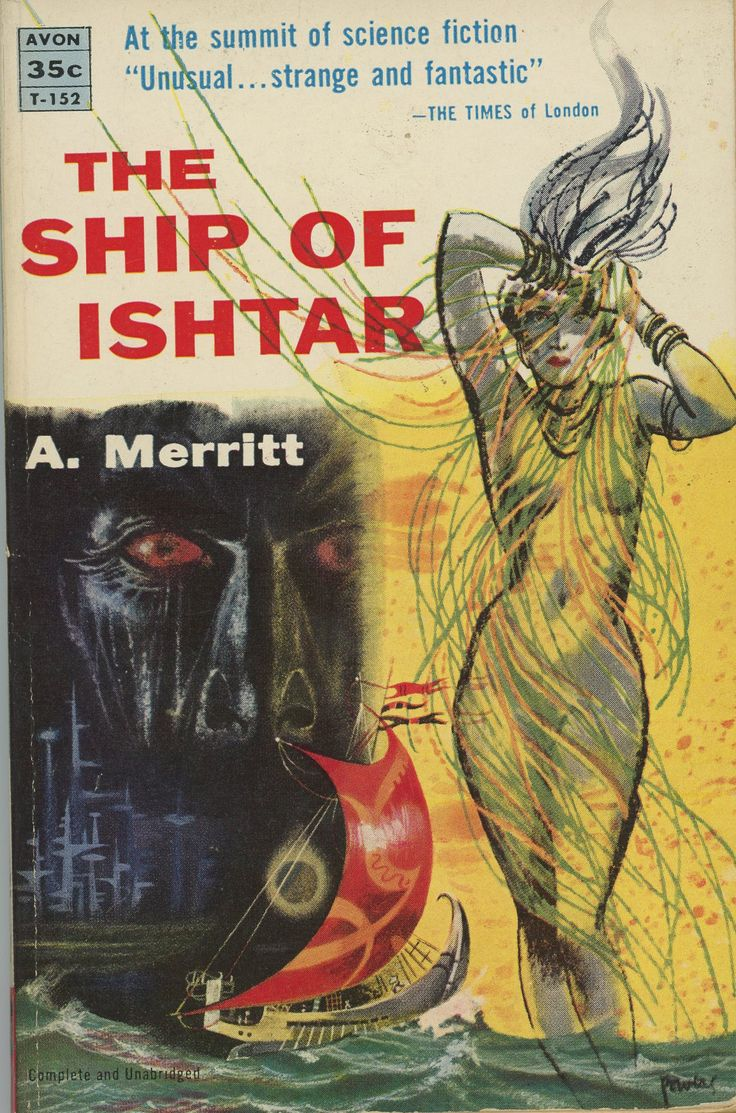 Book Cover Artist Prices ~ The ship of ishtar a merritt edition cover by
